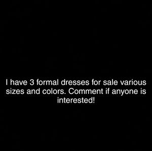Dresses & Skirts - Formal/Prom dresses